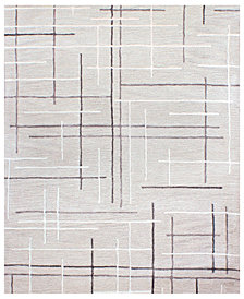 "Hotel Collection Area Rug, City Grid CG1 7' 9"" x 9' 9"", Created for Macy's"