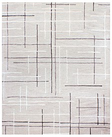 "CLOSEOUT!  Hotel Collection Area Rug, City Grid CG1 7' 9"" x 9' 9"", Created for Macy's"