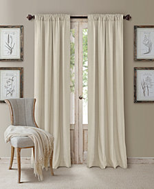 Elrene Cachet 3-in-1 Room Darkening Window Treatment Collection - Silk Look!