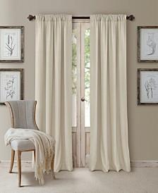 Cachet 3-in-1 Room Darkening Window Treatment Collection - Silk Look!