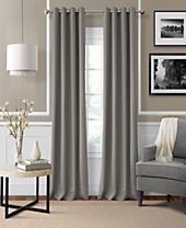 Elrene Essex Linen Window Treatment and Decorative Pillow Collection