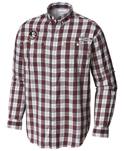 Columbia Men's Florida State Seminoles Super Tamiami Long Sleeve Shirt