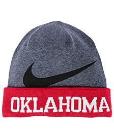 Nike Oklahoma Sooners Training Beanie Knit Hat