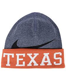half off 9e675 87d58 Nike Texas Longhorns Training Beanie Knit Hat