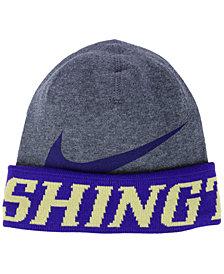Nike Washington Huskies Training Beanie Knit Hat