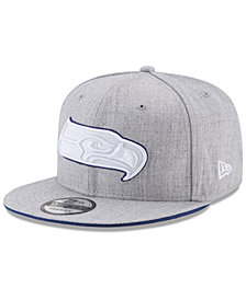 New Era Seattle Seahawks Heather Hot 9FIFTY Snapback Cap