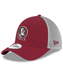 New Era Florida State Seminoles Mesh Back Gray Neo 39THIRTY Cap