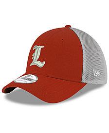 New Era Louisville Cardinals Mesh Back Gray Neo 39THIRTY Cap