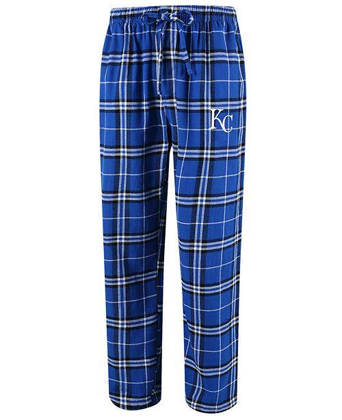 Concepts Sport Men's Kansas City Royals Huddle Sleep Pants