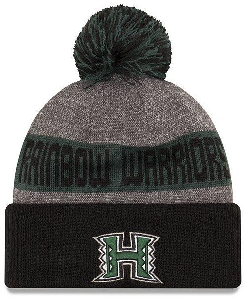 a605a000d47 New Era Hawaii Warriors Sport Knit Hat - Sports Fan Shop By Lids ...