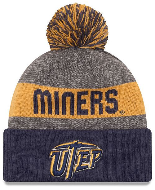 0e1b7098eea ... reduced new era utep miners sport knit hat sports fan shop by lids men  5363e 5df8f