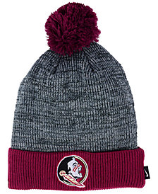 Nike Florida State Seminoles Heather Pom Knit Hat