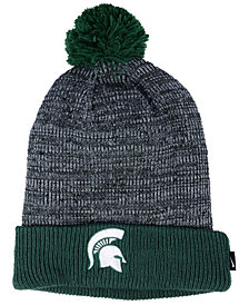 Nike Michigan State Spartans Heather Pom Knit Hat