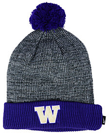 Nike Washington Huskies Heather Pom Knit Hat