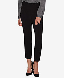 Avec Les Filles Tapered Cropped Trousers
