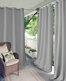 "Connor 52"" x 95"" Indoor/Outdoor Grommet Panel, Water-Repellent and 50+ UV Protection"