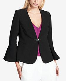 DKNY Bell-Sleeve Blazer