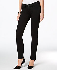 Vintage America Petite Medium Wash Straight-Leg Jeans