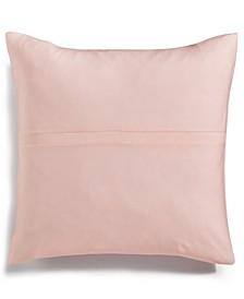 "Jacob Pieced Stripe 22"" Square Decorative Pillow"