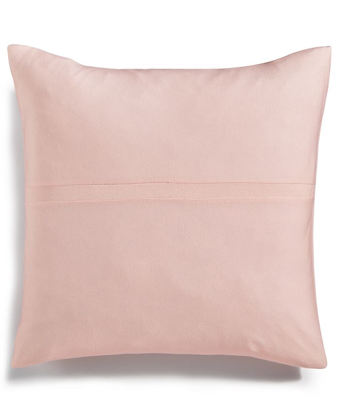 "Calvin Klein - Modern Cotton Jacob Pieced-Stripe 22"" Square Decorative Pillow"
