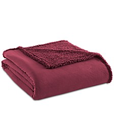Micro Flannel® to Sherpa Full/Queen Blanket