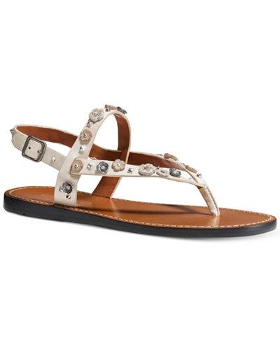 COACH Hudson Flat Sandals