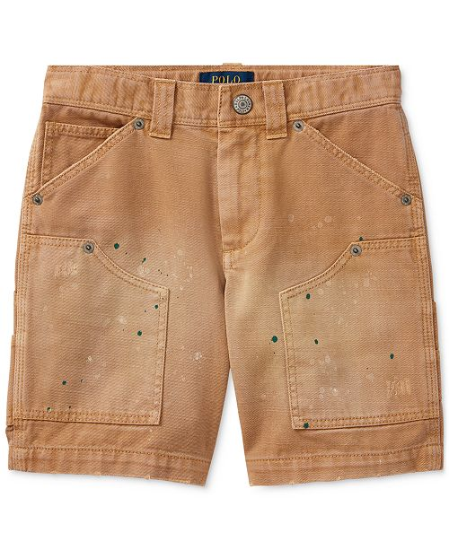 082852dc3c Ralph Lauren Montauk Cotton Carpenter Shorts, Big Boys