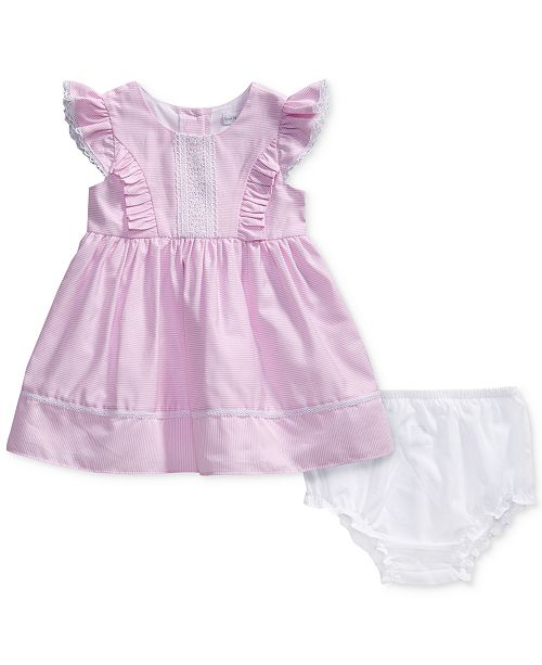 b36a46b3a Sweet Heart Rose. Striped Lace-Trim Dress, Baby Girls. Be the first to  Write a Review. main image