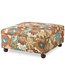 Carlyle Cocktail Ottoman, Quick Ship