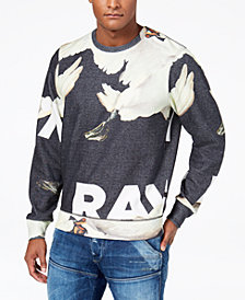 G-Star RAW Men's Goose Graphic-Print Sweatshirt