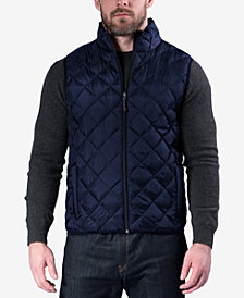 Hawke & Co. Outfitters Men's Packable Down Quilted Vest