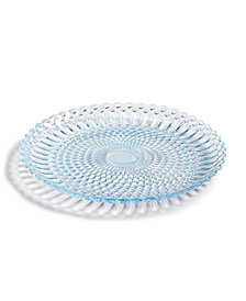 Viva by VIETRI Parlor Glass Blue Salad Plate, Created for Macy's