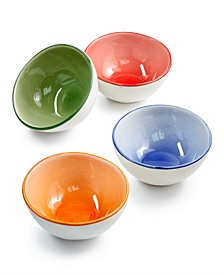 Viva by Fresh Fruit Assorted Set of 4 Dipping Bowls, Created for Macy's