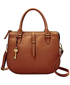 Ryder Leather Medium Satchel