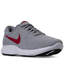 Nike Men's Revolution 4 Wide Width (4E) Running Sneakers from Finish Line