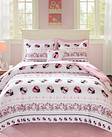 Mi Zone Kids Lacie the Ladybug 8-Pc. Full Comforter Set