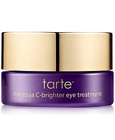 Receive a FREE Deluxe Maracuja C-Brighter Eye Treatment with any Tarte Creaseless Undereye Concealer purchase