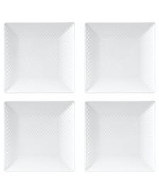 Gio Square Mini Plates, Set Of 4