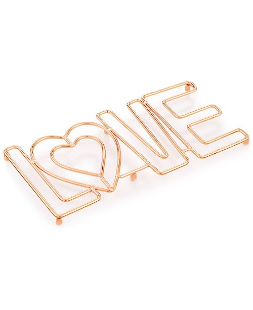 Martha Stewart Collection Love Trivet, Created for Macy's