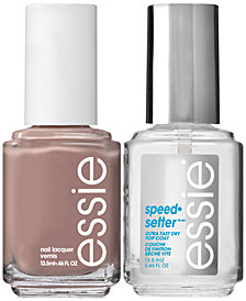 essie 2-Pc. Speed Setter Top Coat & Nail Polish Set