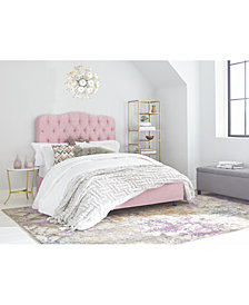 Brooke Tufted Bed Collection, Quick Ship