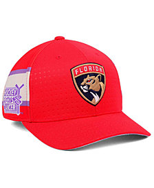 adidas Florida Panthers Hockey Fights Cancer Stretch Cap