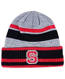 adidas North Carolina State Wolfpack Gray Dome 2 Cuff Knit Hat