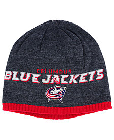 adidas Columbus Blue Jackets Heather Beanie