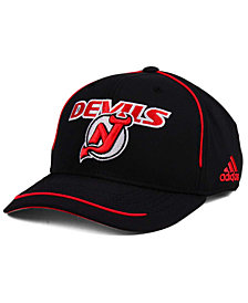 adidas New Jersey Devils Piper Adjustable Cap