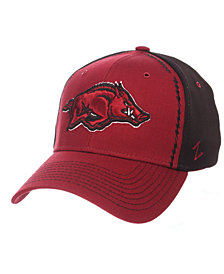 Zephyr Arkansas Razorbacks Pattern Pipe Stretch Cap