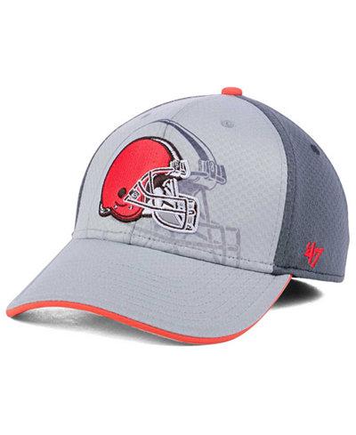 '47 Brand Cleveland Browns Greyscale Contender Flex Cap