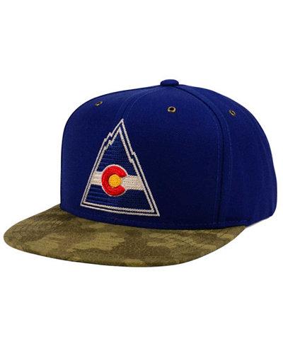 CCM Colorado Rockies Fashion Camo Snapback Cap