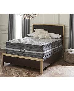 Lillian 18 Luxury Firm Pillow Top Mattress Set Queen Split