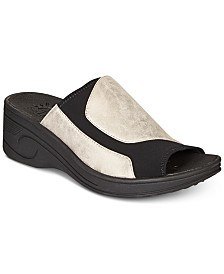 Easy Street Slight Wedge Sandals